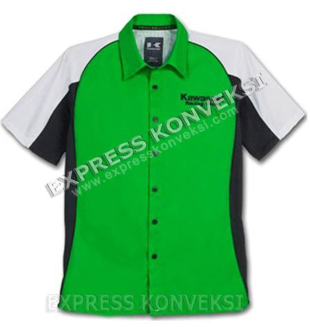 Harga kemeja seragam bordir baju seragam salon for Baju uniform spa